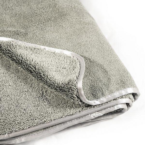 DE WITTE Towel Grey 60x90cm