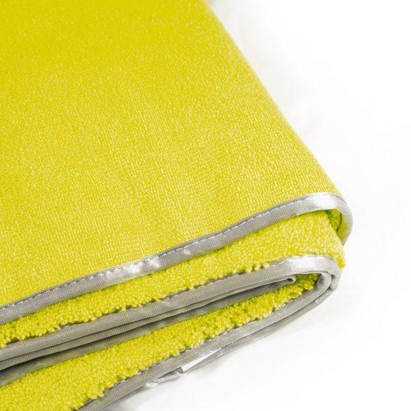 DE WITTE Towel Apple Green 60x90cm