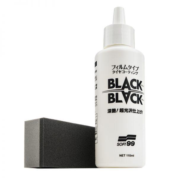 KERAMICKÁ OCHRANA PNEUMATÍK SOFT99 BLACK BLACK