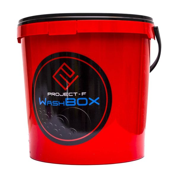PFAWB125R_DETAILINGOVÉ VEDRO 12,5 l PROJECT F® WASH BOX RED BUCKET