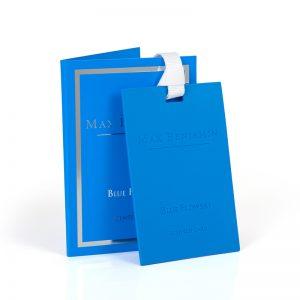 Vonná karta MAX BENJAMIN BLUE FLOWERS