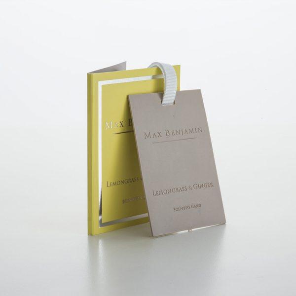Vonná karta CLASSIC LEMONGRASS & GINGER