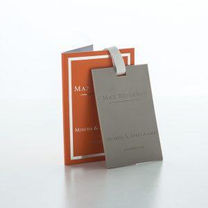 Vonná karta CLASSIC MIMOSA & SWEET AMBER