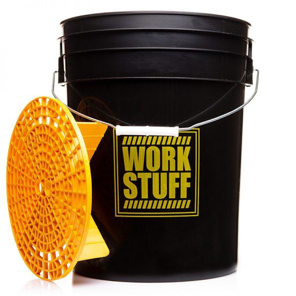 WORK STUFF Bucket Black Rinse + Separator