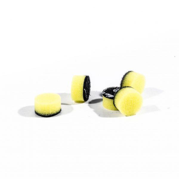 ZVIZZER Minipads Yellow Fine Cut (Set 5pcs) 15 mm