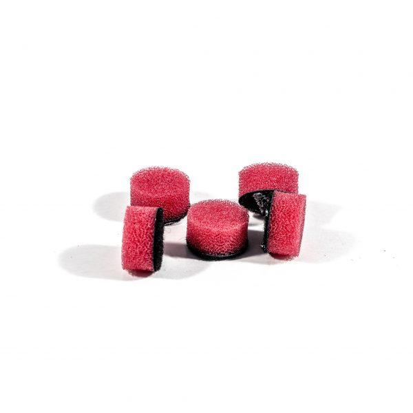 ZVIZZER Minipads Red Hard (Set 5pcs) 15mm