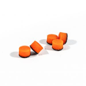 ZVIZZER Minipads Orange Medium Set 5pcs 15 mm