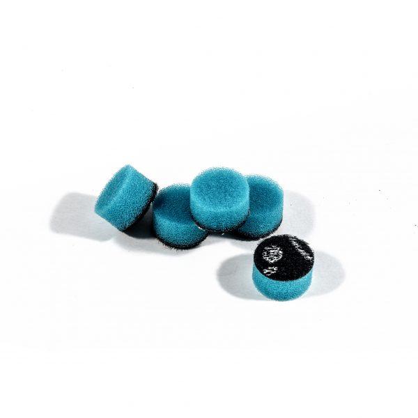 ZVIZZER Minipads Blue Extra Hard Set 5pcs 15 mm