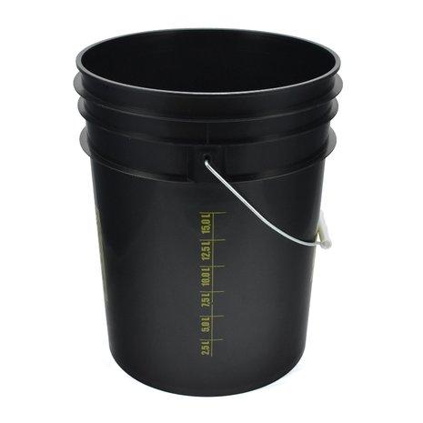WORK STUFF Bucket Black Rinse