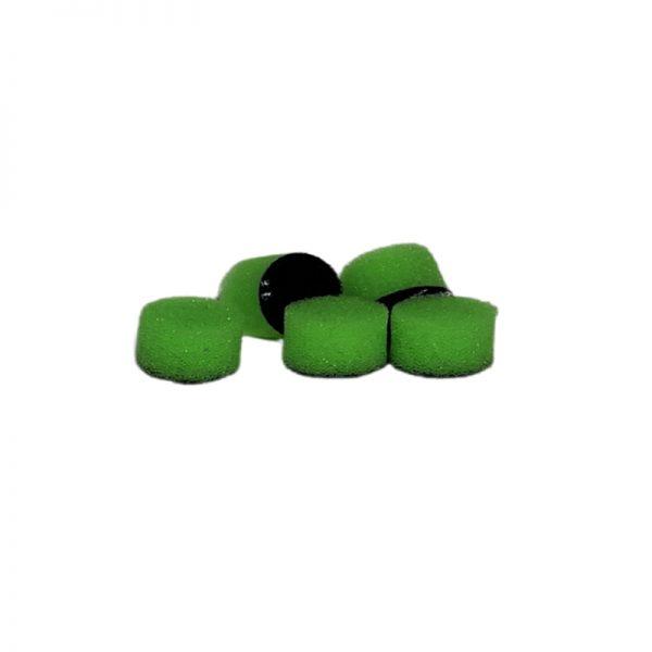ZVIZZER Minipads Green Ultra Fine Set 5pcs 15 mm
