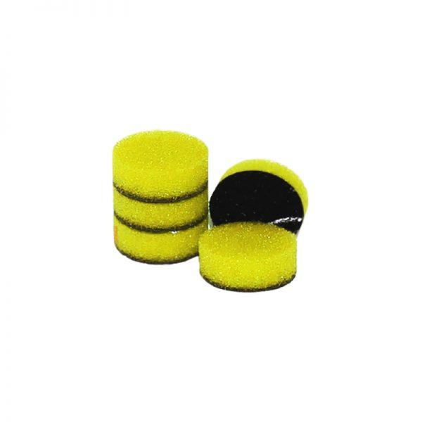 ZVIZZER Minipads Yellow Fine Cut (Set 5pcs) 25 mm