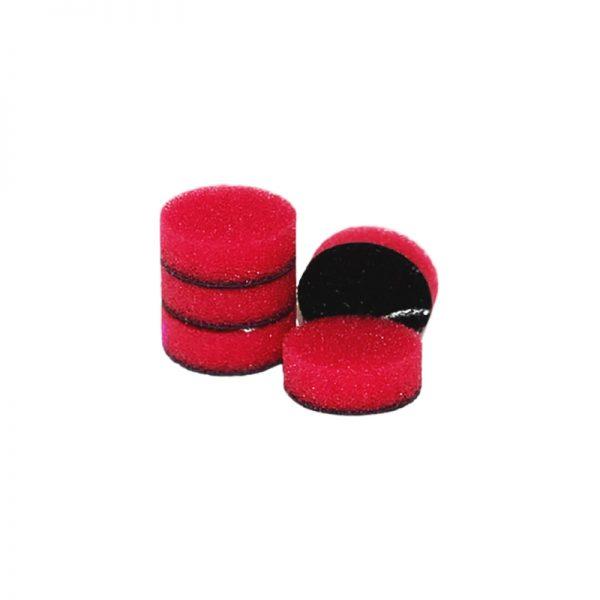 ZVIZZER Minipads Red Hard (Set 5pcs) 25mm