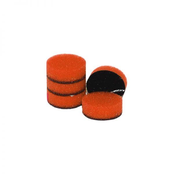 ZVIZZER Minipads Orange Medium Set 5pcs 25 mm