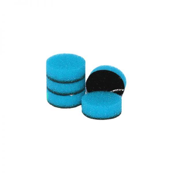 ZVIZZER Minipads Blue Extra Hard Set 5pcs 25 mm